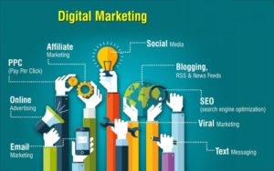 Social media marketing is the use of social media platforms and websites to promote a product or service.